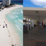 Caribe Mexicano prepara cierre de playas y de vialidades (Video)