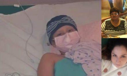 Consigue niña ayuda para dispositivo de próximas quimioterapias