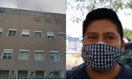 Niño internado por leucemia en UMAE Mérida tendría Covid-19