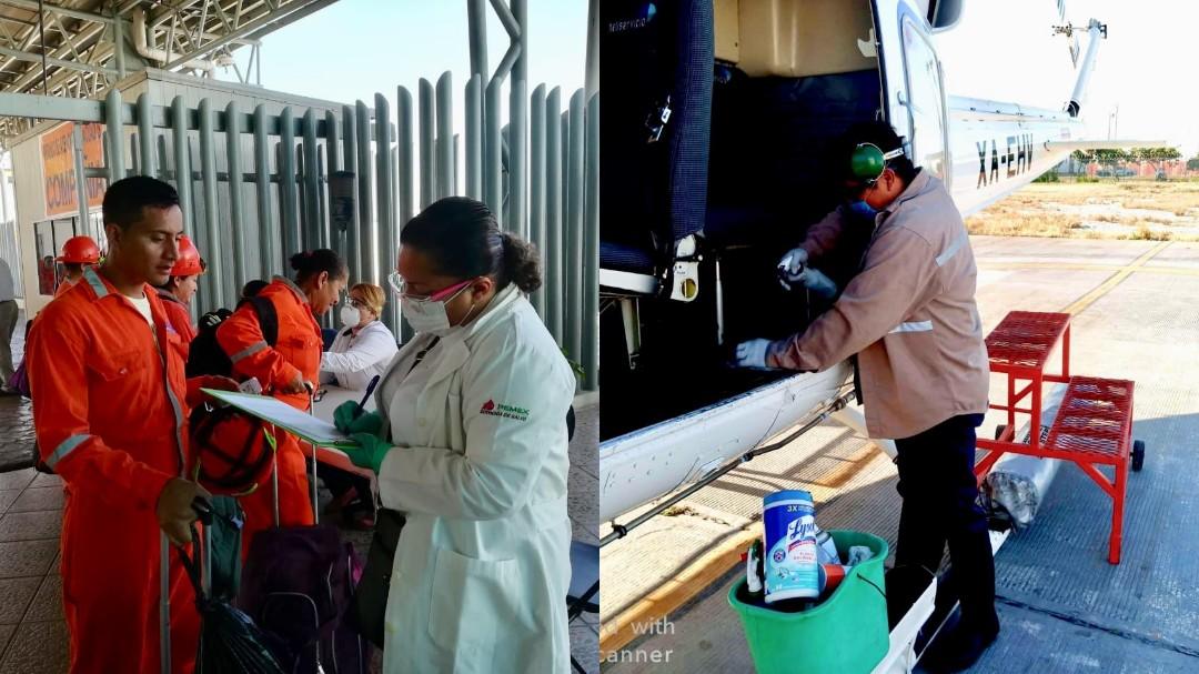 "Desaloja Pemex a ""personal no indispensable"" de plataformas marinas"