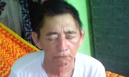 Ciego y sin apoyos: hombre de la tercera edad, confinado, clama ayuda