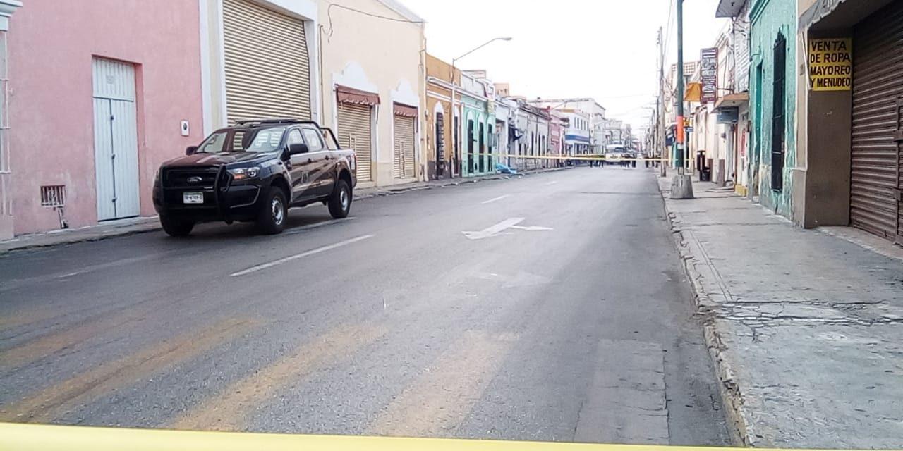 Muerte solitaria: otro indigente sin vida en centro de Mérida (Video)
