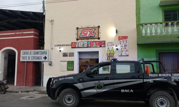 """Segundo """"robo"""" de cervezas en una semana, ahora en Baca (Video)"""
