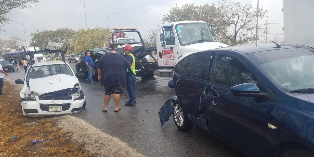 Yucatán: autos no guardan sana distancia: más choques en cuarentena