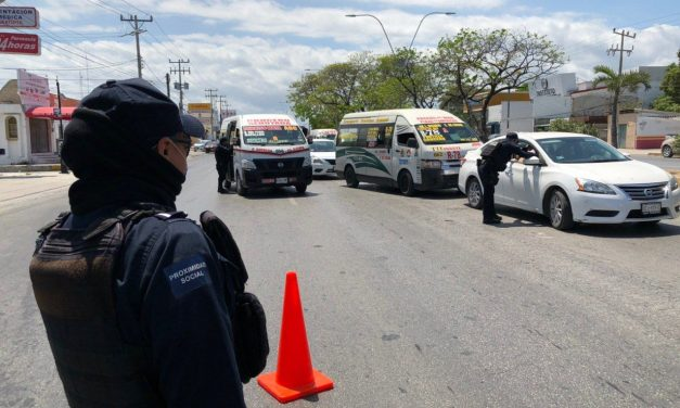 Cortan vialidades e instalan filtros en Cancún (Video)