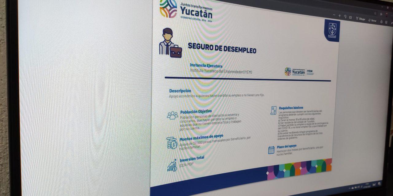 Más de 80 mil yucatecos solicitan ayuda gubernamental