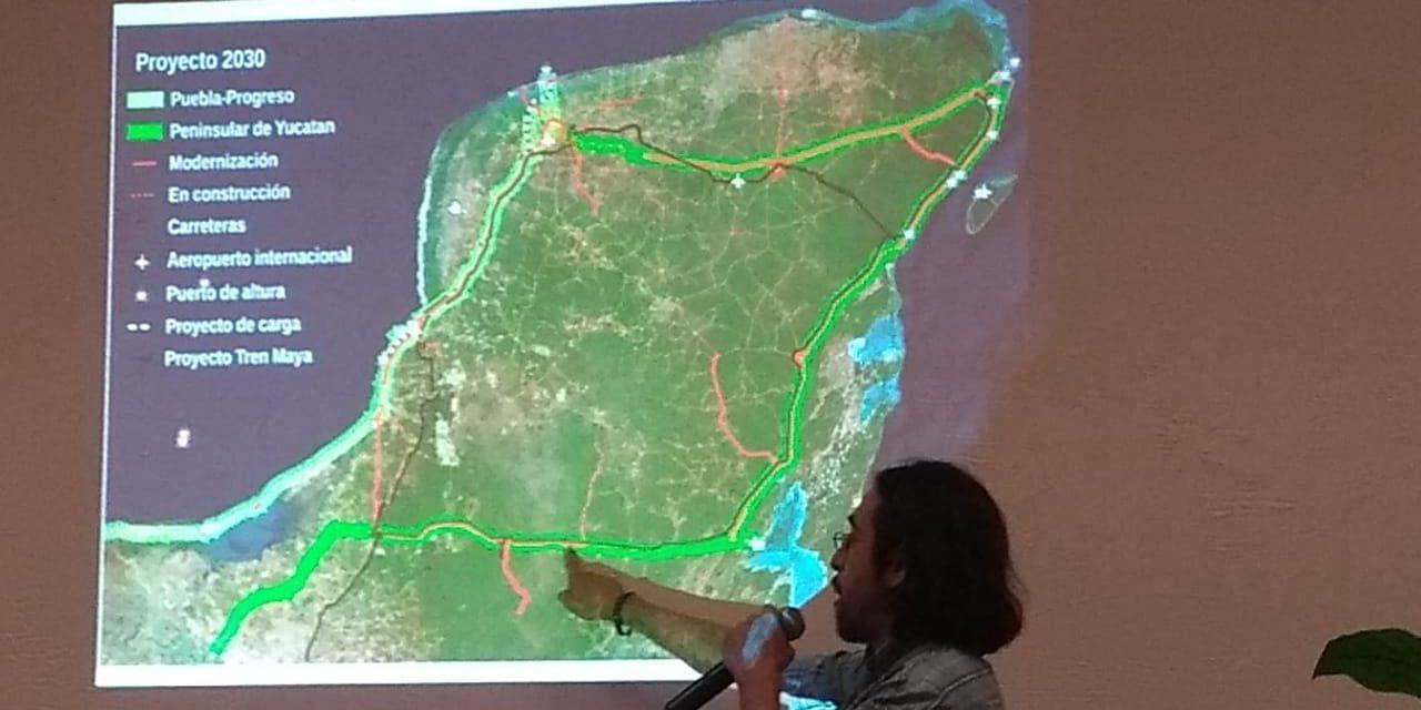 Comunidades urbanas e indígenas denuncian obstáculos en su defensa contra Tren Maya