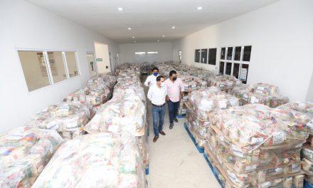 Inició distribución de ayuda alimentaria a 450 mil hogares yucatecos