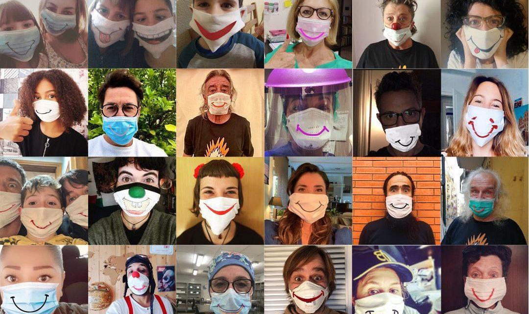 Sonreír en medio de la pandemia: payasos sin fronteras