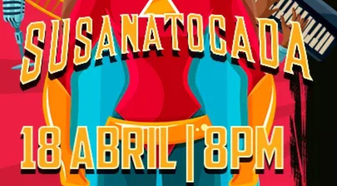 """""""Susana Tocada"""", concierto en línea el próximo sábado"""