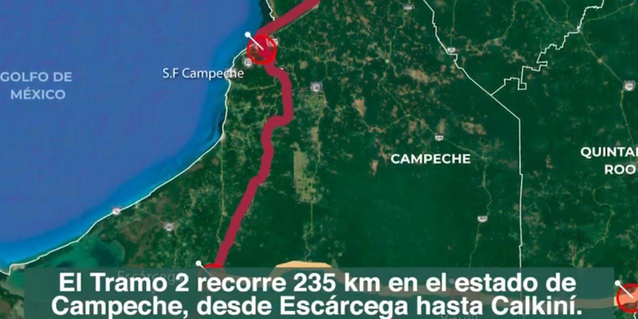 Ofertas de 15 consorcios para tramo Escárcega-Calkiní de Tren Maya