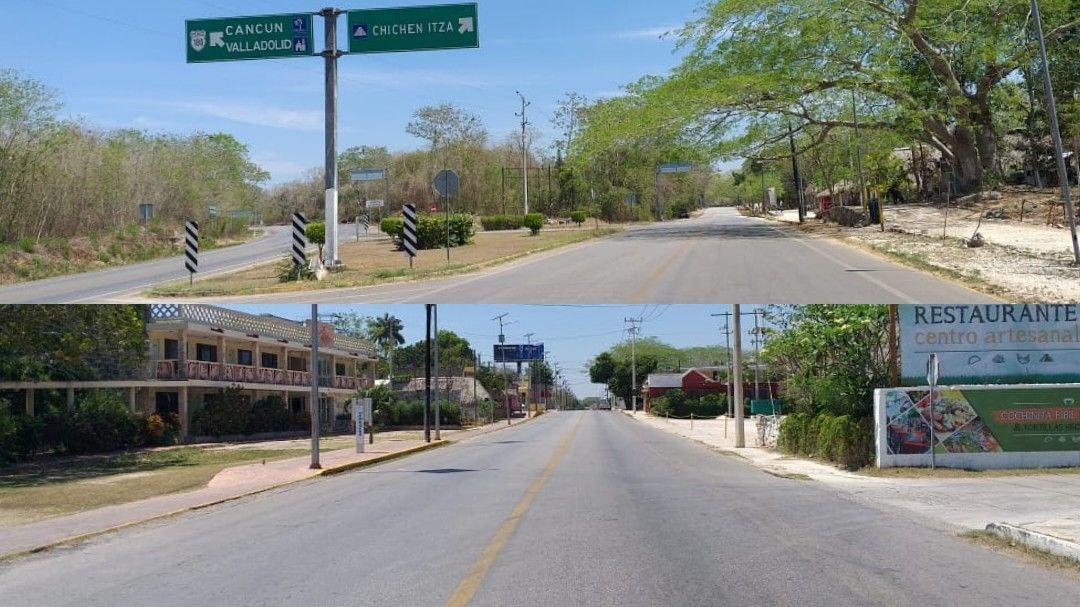 """Pisté y comunidades alrededores de Chichén Itzá, """"desesperadas"""" por apoyos"""