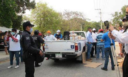 Detenido en Umán por robo de despensas