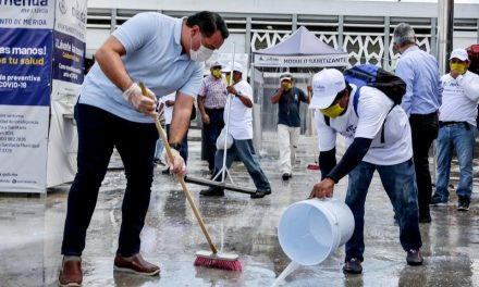 """Mérida me activa"", programa de apoyo eventual, está en marcha"