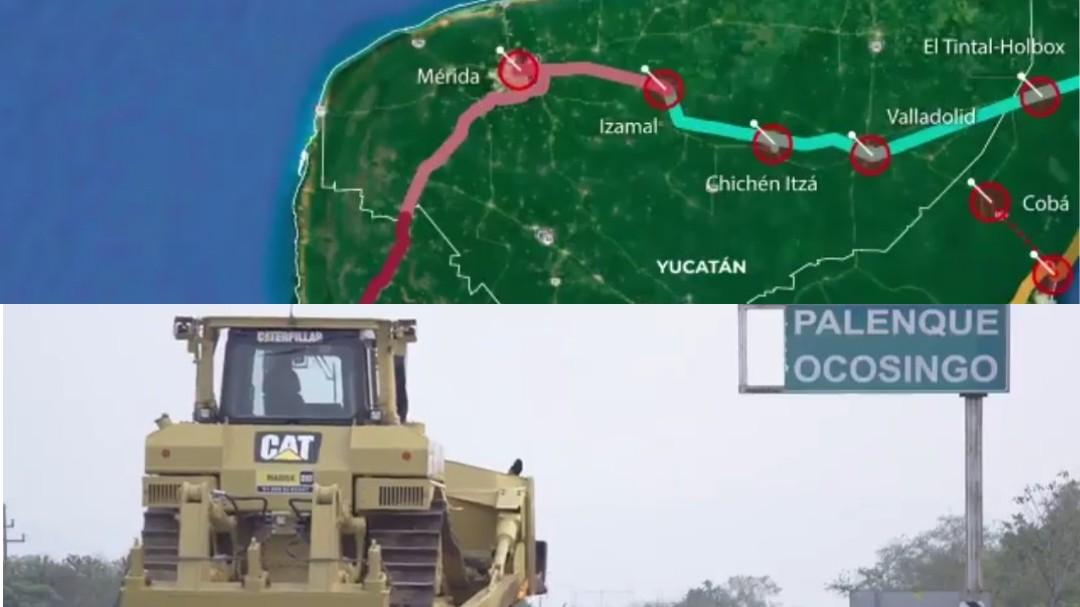 Tren Maya: juez federal otorga suspensión a obras de tramo en Palenque