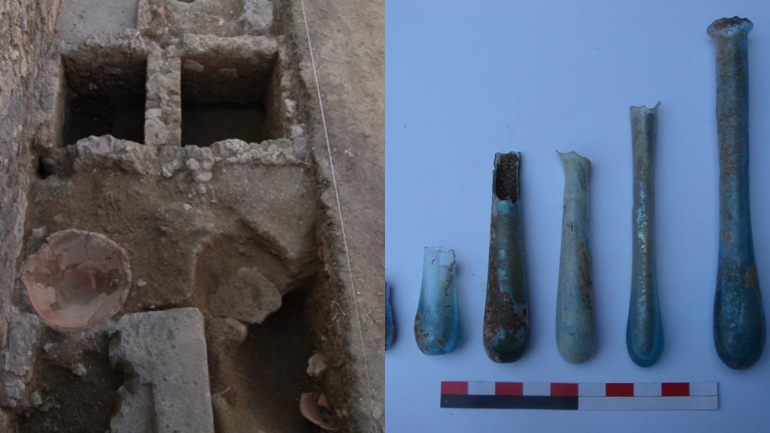 Hallan en Pompeya una de las perfumerías mejor conservadas de época romana