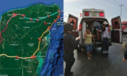 Tren Maya y reuniones de seguridad, en giras de AMLO en el sureste