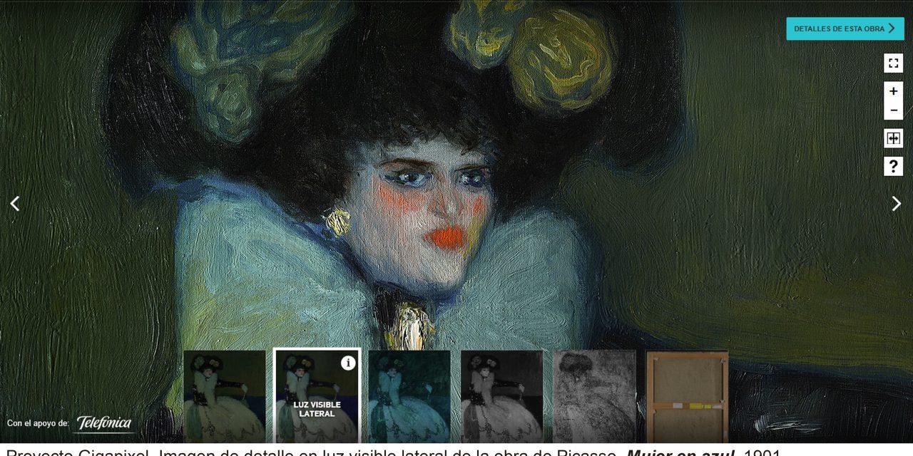 Espacio web del Reina Sofía para explorar obras con resolución ultra-HD