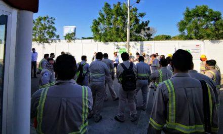 Paran labores en Centro de Distribución Poniente de CFE