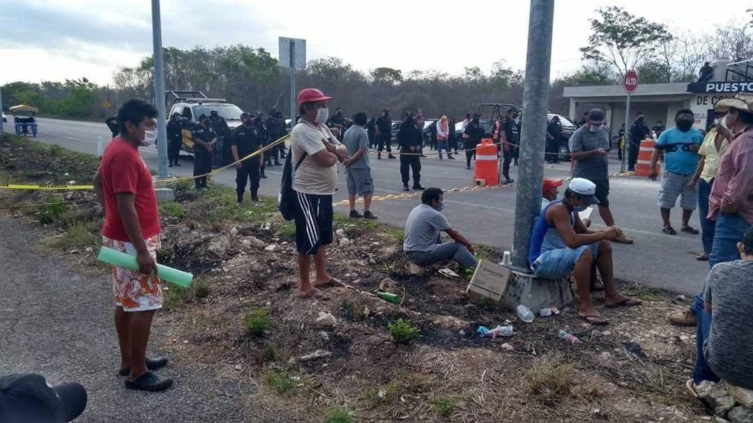 Violan derechos del pueblo maya en pandemia de Covid-19