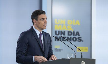 Solicitará Gobierno español quinta prórroga de estado de alarma por Covid-19