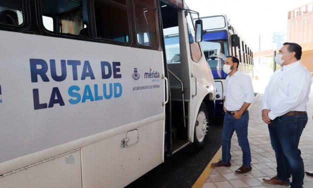 """""""Ruta por la Salud"""", transporte exclusivo y gratuito para personal médico"""