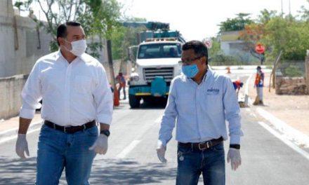 Vigilan en Mérida comercios no esenciales por contingencia