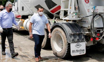 Por lluvias en Mérida, mayor atención a bacheo y mantenimiento vial