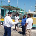 Entregan apoyos federales a casi 13 mil pescadores yucatecos