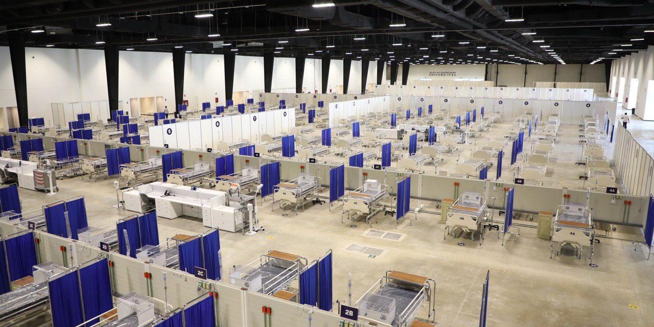 Listas 490 camas de hospital temporal Covid-19 en Siglo XXI