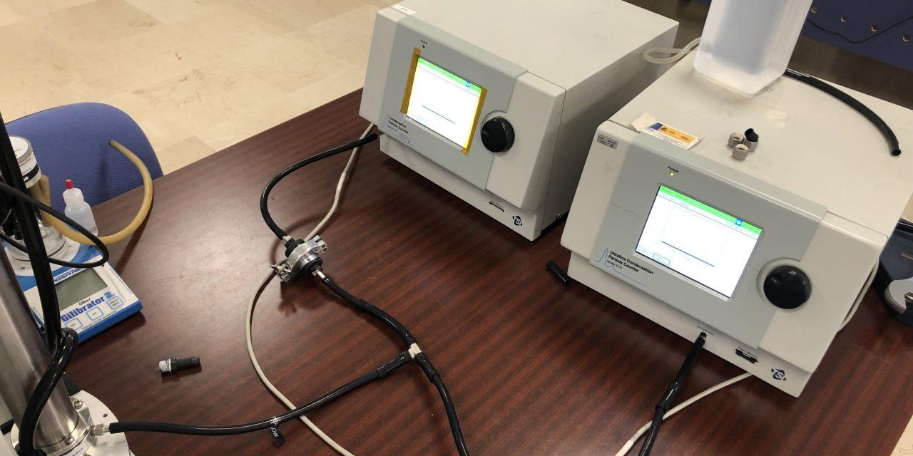 Diseñan sistema para determinar eficiencia de filtrado en mascarillas