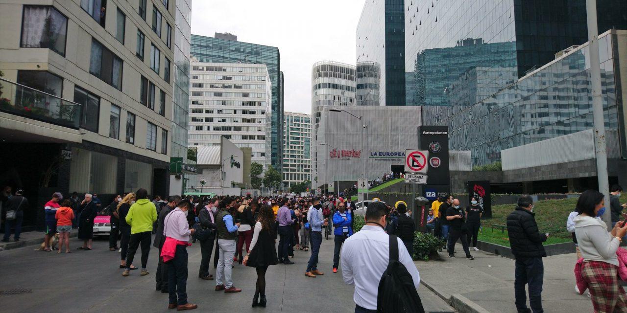 Percibieron sismo 46 millones de mexicanos; saldo de muertos y heridos