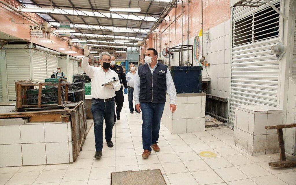 """Reabiertos los mercados de Mérida """"Lucas de Gálvez"""" y """"San Benito"""""""