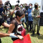 Rescatan y trasladan a mujer embrazada a hospital de Tekax