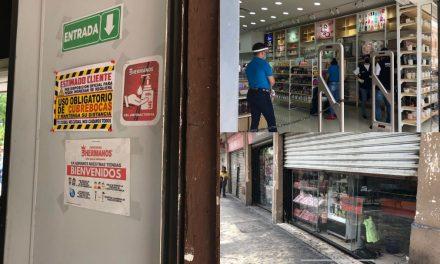 Reactivación gradual en el centro de Mérida; cierres y desempleo