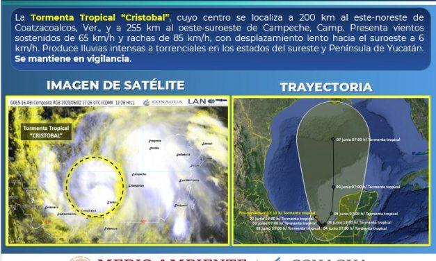 De Amanda a Cristóbal: torrentes de lluvia en la península y el sureste