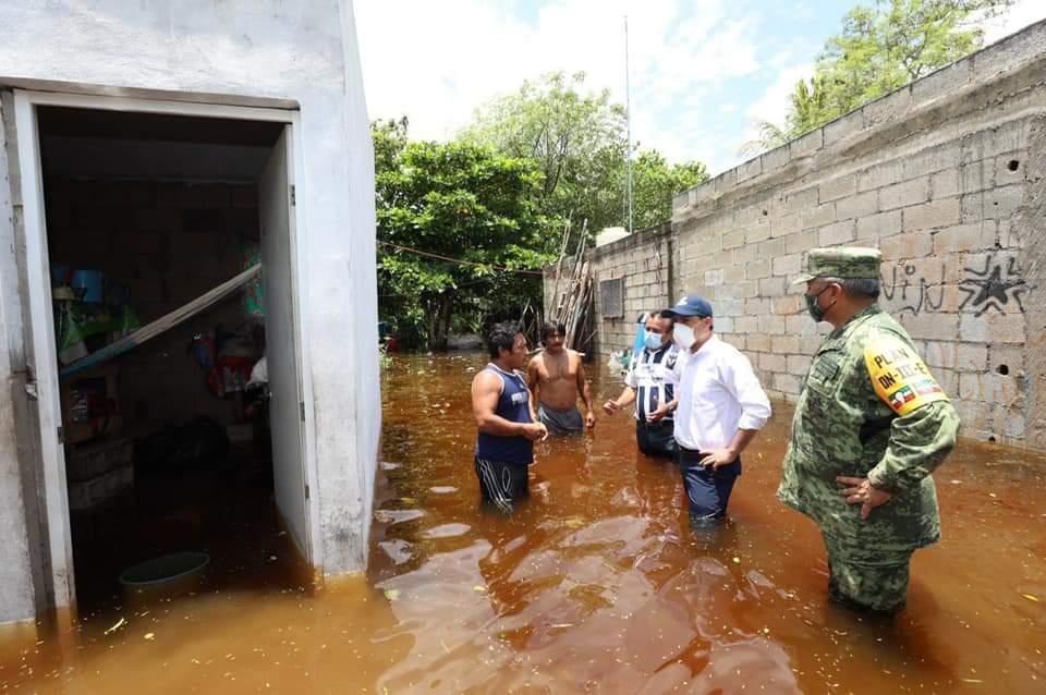 Más municipios de Yucatán esperan Declaratoria de Emergencia