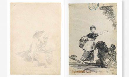 Libro de reproducción fiel del Cuaderno C de Goya, en Museo del Prado