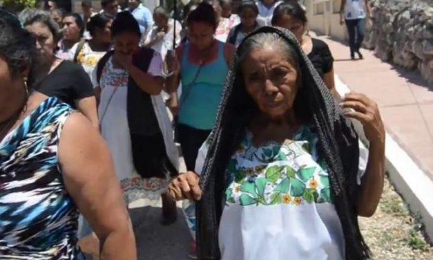 Mayas dirigen pronunciamiento al presidente Andrés Manuel López Obrador