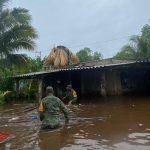 Plan DN-III-E, de apoyo a población en Yucatán, por lluvias y anegamientos