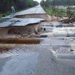 Incomunica parcialmente a Xpujil cierre de carretera por deslaves