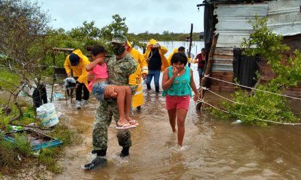 Viviendas inundadas y enseres dañados, golpe a las familias