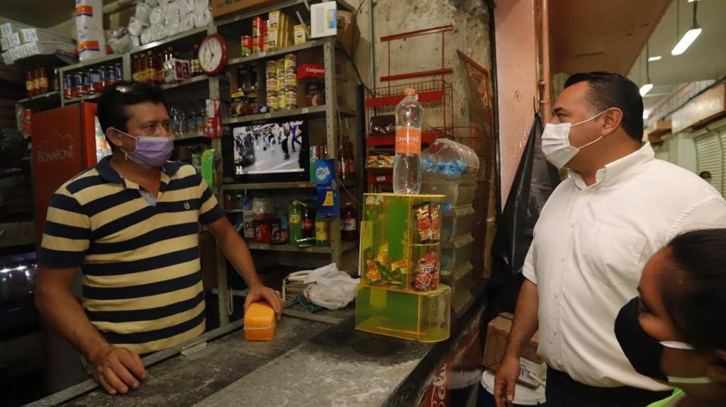 "Mercados ""Lucas de Gálvez"" y ""San Benito"" en fase 3 de reapertura, con más giros activos"