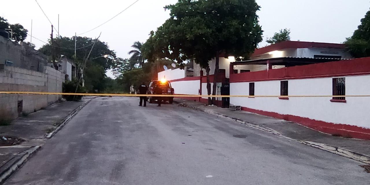 Muere ex militar de balazo en Kanasín; retenida la esposa (Video)