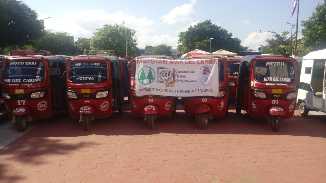 Avalan en comisión regularizar a 50 mil mototaxis en Yucatán