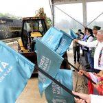 Con clima y pronóstico adverso: arranca tramo Izamal-Calkiní de Tren Maya