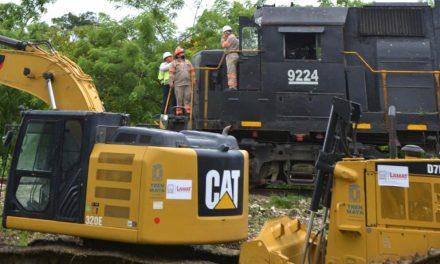 Suspensión a Tren Maya sólo a obra nueva en Palenque y durante emergencia sanitaria.- Fonatur