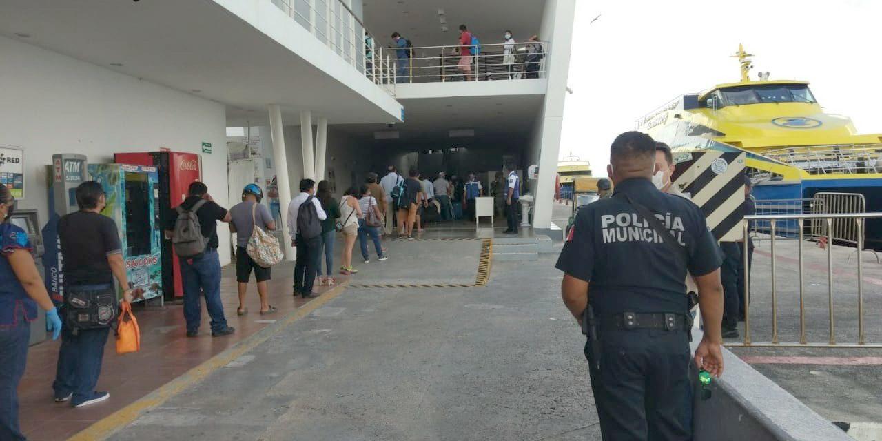 Detenido joven por falsa amenaza de bomba en muelle de Cozumel