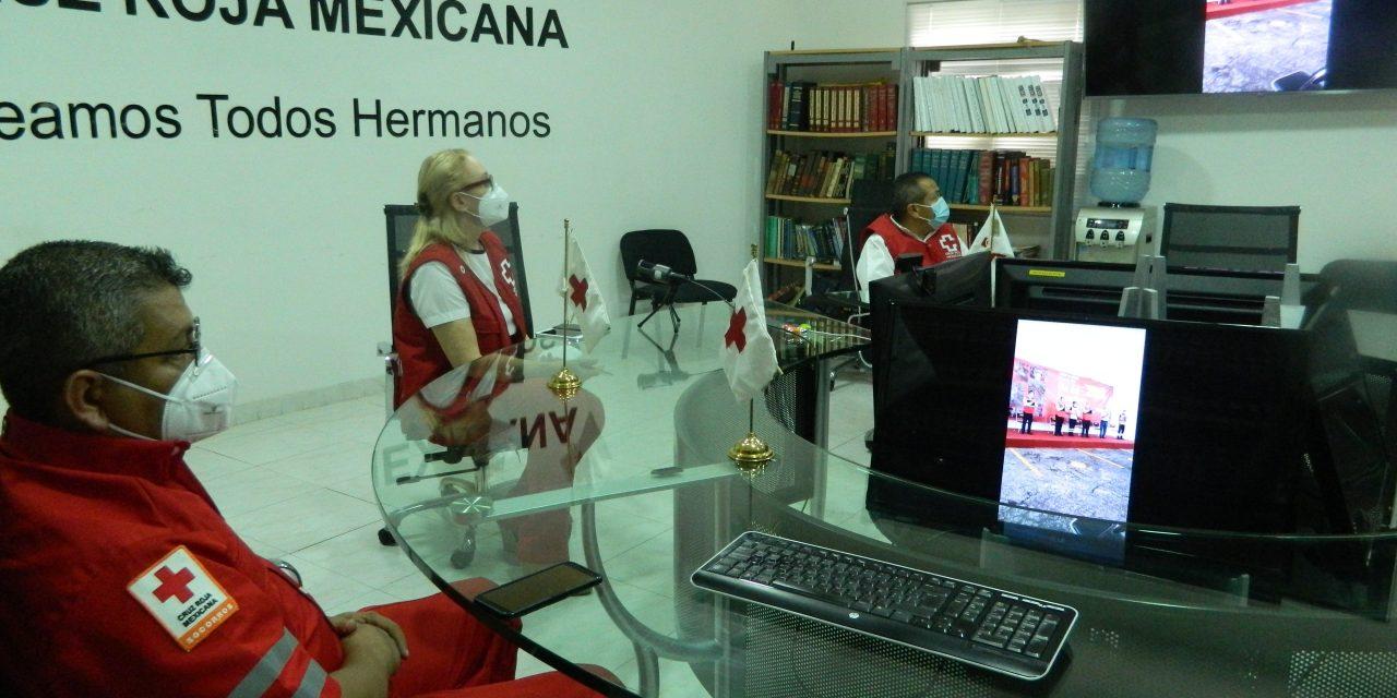 Día del Socorrista, Cruz Roja Mexicana celebra luchando contra virus