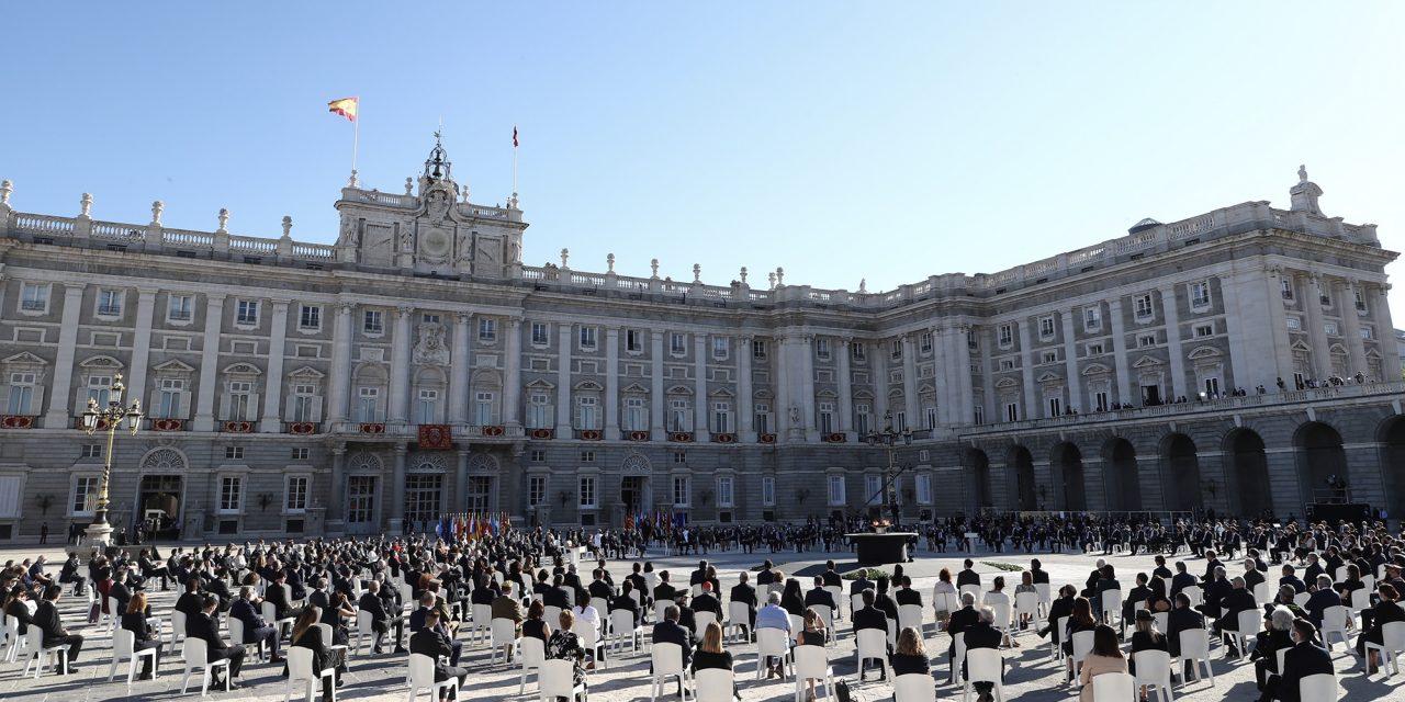 Homenaje de Estado en España por víctimas de la pandemia